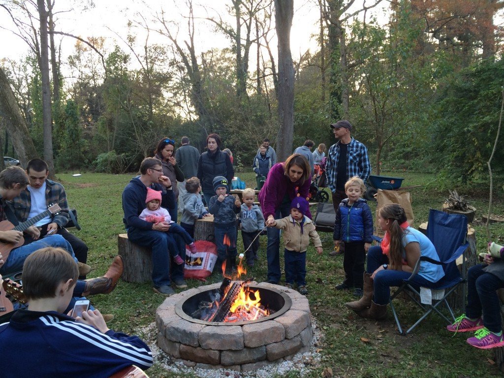 Hawk Hollow S'Mores Nov 2015